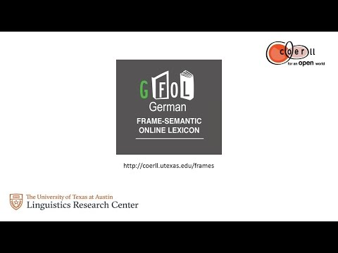 Introduction to the GFOL, a free German dictionary resource