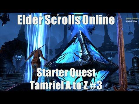 Starter Quest for the Elder Scrolls Online (Wailing Prison) Tamriel A to Z #3