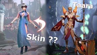 Cách mà họ tạo ra trang phục (skin) Tướng Liên Quân Mobile - Skin Taara Hỏa Ngọc Nữ Đế