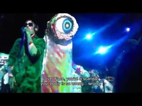 of Montreal Live 2015. PLASTIS WAFER [LYRICS] FREEBIRD, JACKSONVILLE BEACH, FL 19 JAN 2015
