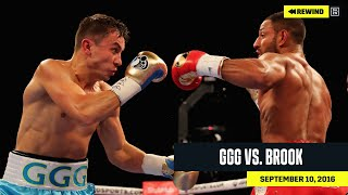 "FULL FIGHT | Gennadiy ""GGG"" Golovkin vs. Kell Brook (DAZN REWIND)"
