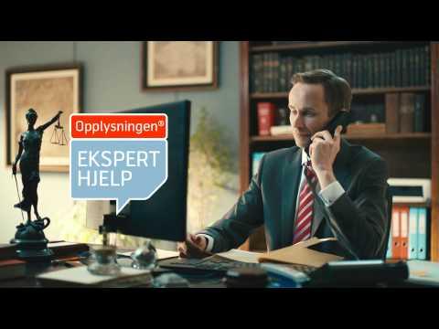 Opplysningen Eksperthjelp - Advokatråd på telefon