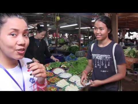 Université d'été Vientiane 2016 - Le Marché de Dong Dok