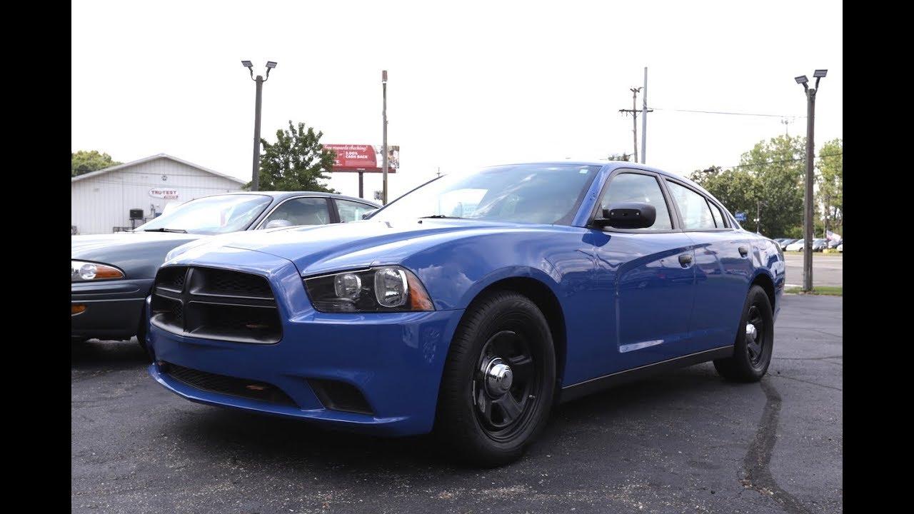 2013 Dodge Charger Police StadiumMotors.Com - YouTube