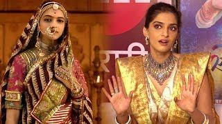 Sonam Kapoor REACTION To Padmavati And Padman Clash
