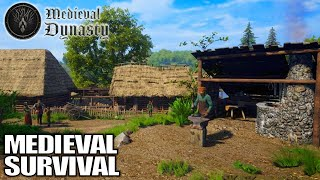 Very Promising New Medieval Survival Game | Medieval Dynasty Gameplay | E01