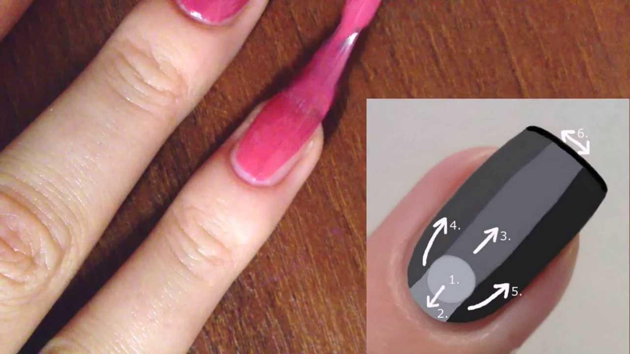 Как нанести правильно лак на ногти