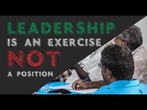 Members of the Efate Vaturisu Council of Chiefs Comment on Adaptive Leadership Training