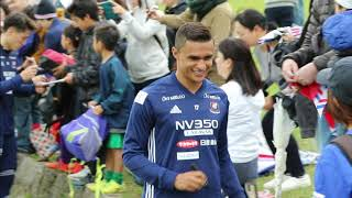 15年ぶりJ1優勝の横浜Fマリノス石垣島キャンプイン