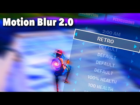 How To Get *MOTION BLUR 2.0* In Fortnite! (Not Click Bait)