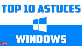 TOP 10 ASTUCES WINDOWS ! | Fr