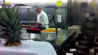 Galley tour of pacific jewel cruise ship pt2