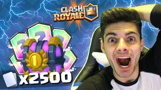 ABRIENDO EL MEJOR COFRE MEGAÉPICO DE +2500 CARTAS!! - Clash Royale