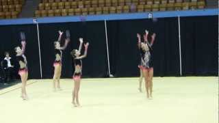 Team Canada, Rhythmic Gymnastics, Panasonic FZ150, Montreal, 4 March 2012  (10)