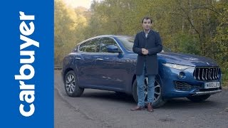 2016 Maserati Levante SUV in-depth review – Carbuyer – James Batchelor