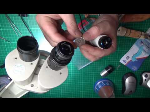How to make a opto digital microscope Собираем мощный микроскоп