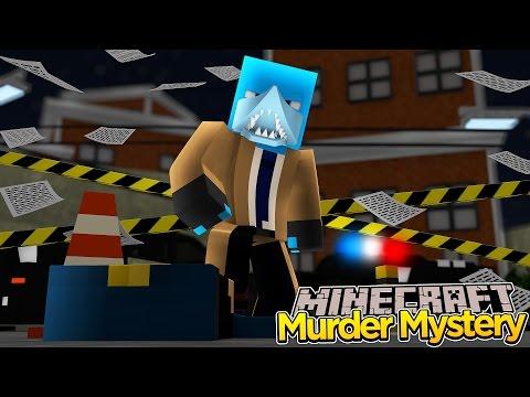 Minecraft - DETECTIVE DAN MURDER MYSTERY!!!