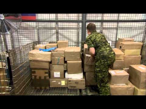 Postal Clerk in the Canadian Armed Forces