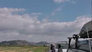 F-16 50mmダクト 編隊飛行!