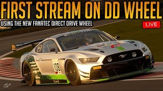 Gran Turismo Sport: First Time Streaming the Direct Drive Wheel