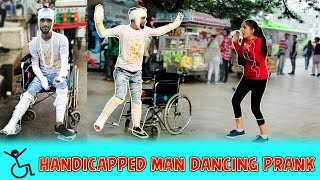 Handicapped Person Dancing Prank | Pranks In India | Aawara Boys