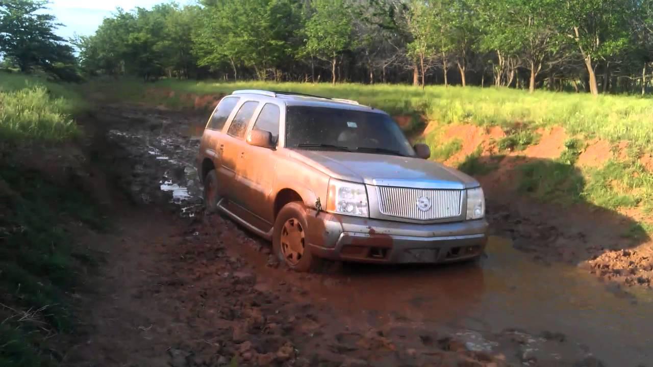 2003 Cadillac Escalade Stuck Off Road Youtube