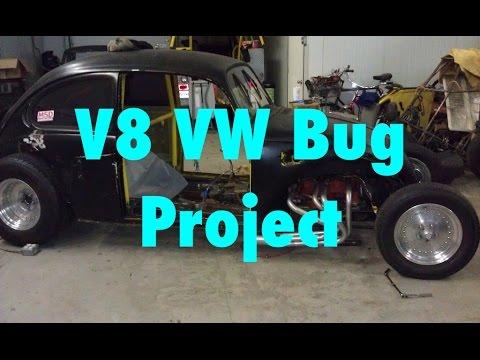 V8 VW Bug Street Rod Part 12 Time Lapse