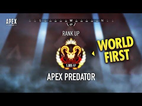 WORLD FIRST Apex Predator Rank... (Apex Legends WTF & Funny Moments #126)
