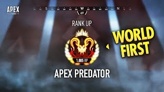 WORLD FIRST Apex Predator Rank... (Apex Legends WTF & Funny Moments #126)