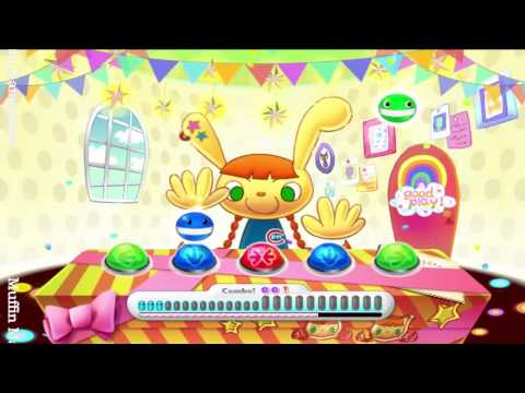 Pop n Music Wii Gameplay