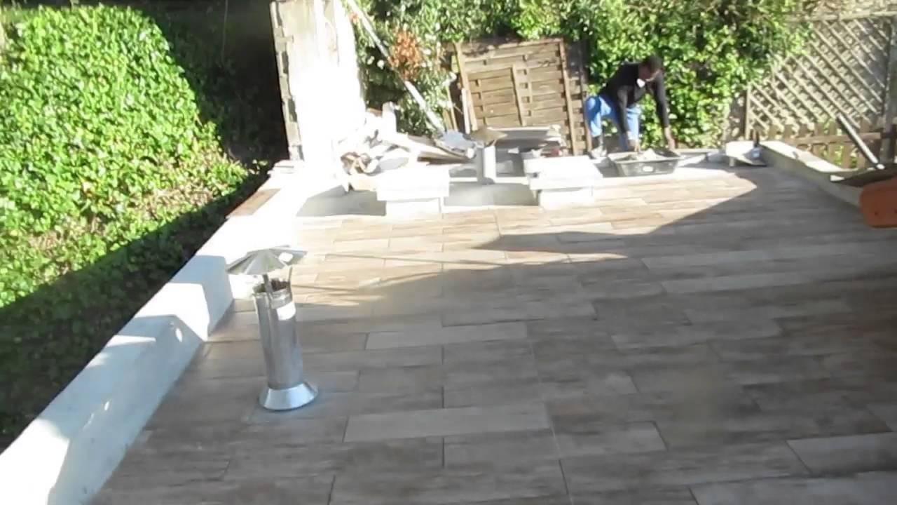 etancheite terrasse beton avant carrelage carrelage sol anthracite effet bton bristol l x l cm. Black Bedroom Furniture Sets. Home Design Ideas