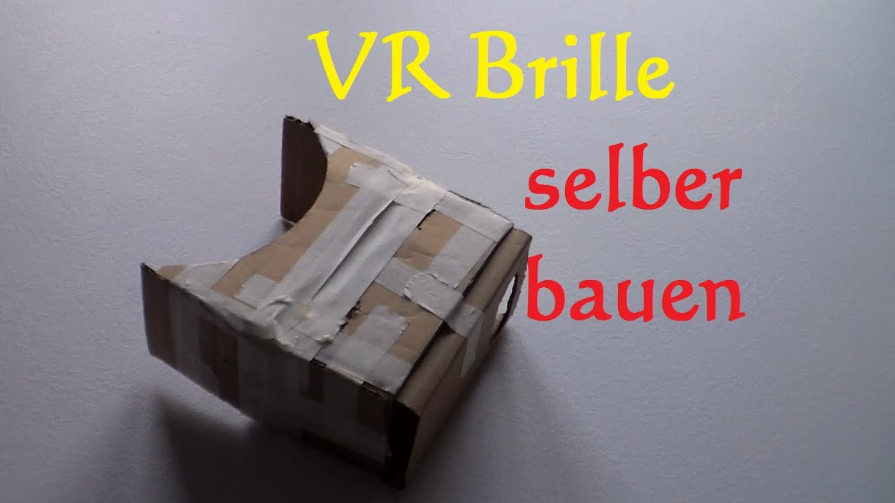 diy vr brille selber bauen virtual reality brille selber machen cardboard bauen basteln. Black Bedroom Furniture Sets. Home Design Ideas