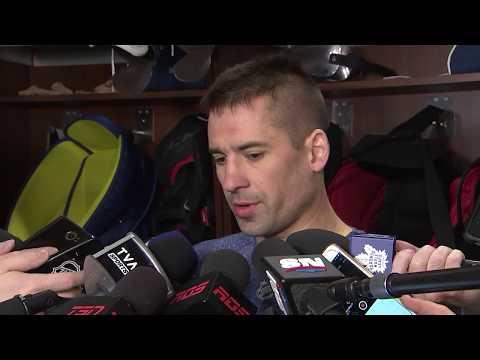Maple Leafs Morning Skate: Tomas Plekanec - March 17, 2018