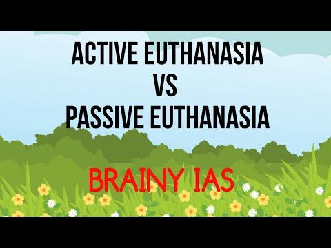Active And Passive Euthanasia Ethics