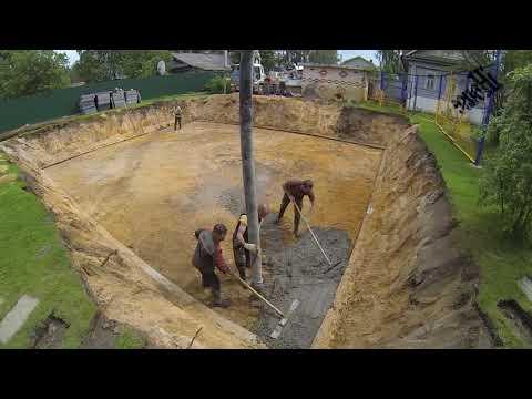 Фундамент Бетонная подготовка в конструкции фундамента. Часть 3.  Concrete Preparation.