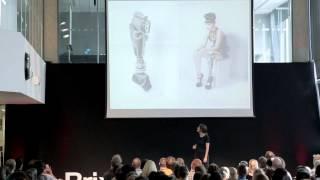 Prosthetic limbs as surrealist art : Sophie de Oliveira Barata at TEDxBrixton