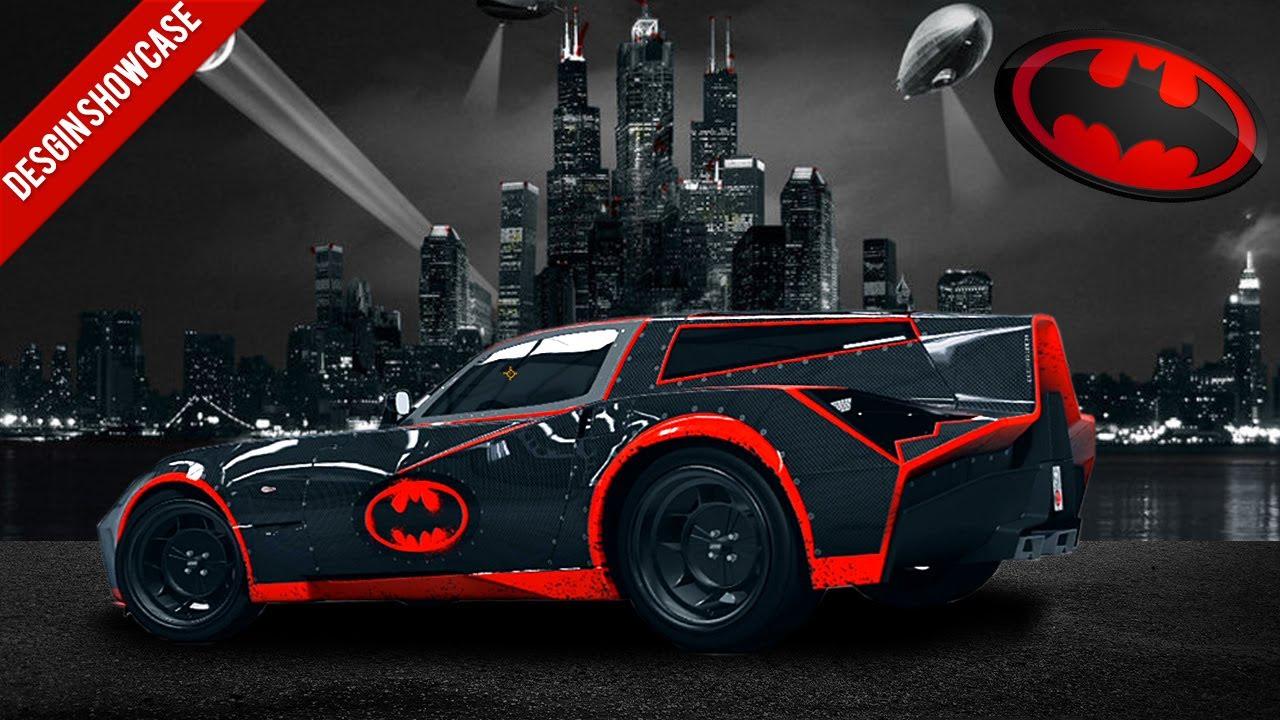 Forza 4 Design Showcase Batmobile Youtube