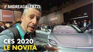 Le auto del CES 2020 viste da Andrea Galeazzi