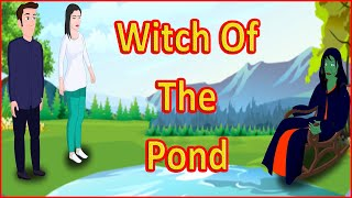La bruja De La laguna | Morales Cuentos para Niños en inglés | inglés de dibujos animados | Maha de dibujos animados de la TV en inglés