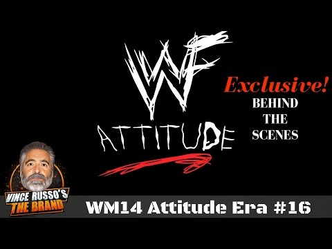 WWE RAW Attitude Era (WWF) w/ Vince Russo Archive: EPISODE #16 WrestleMania 14 XIV