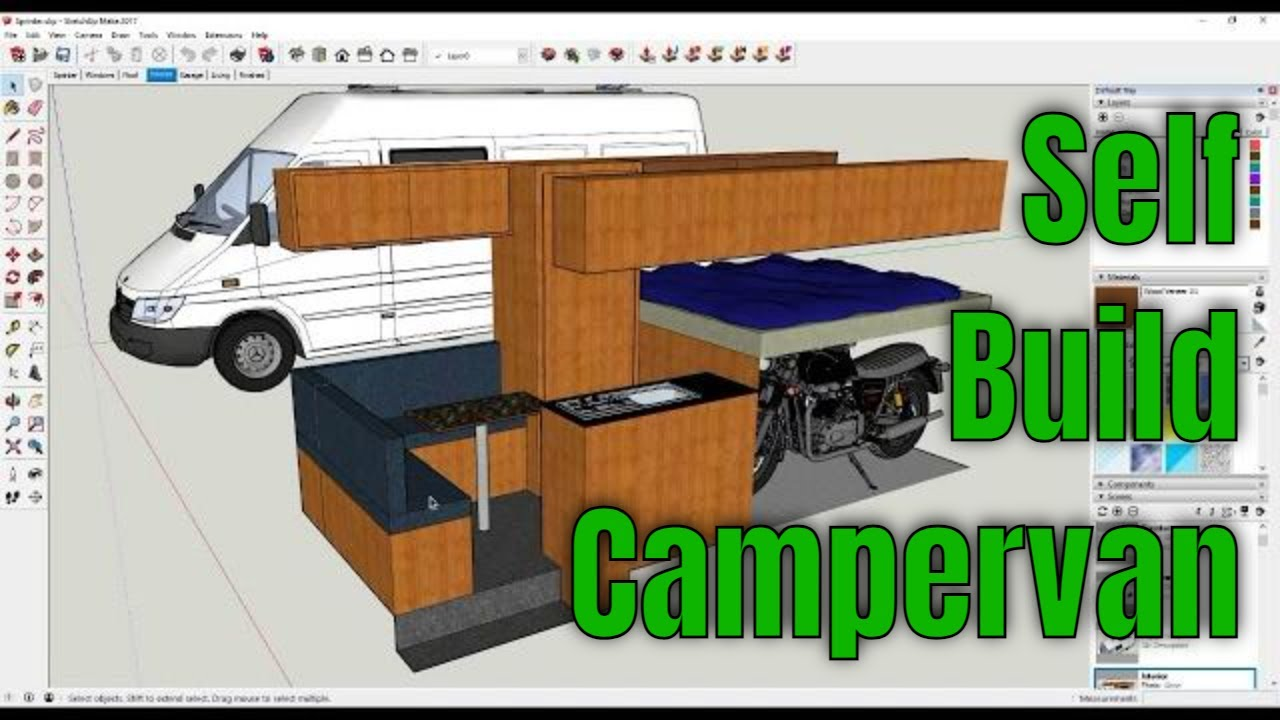 Van Conversion Kits For Sale >> Mercedes Sprinter Camper Van Conversion - Introduction to Build Series - YouTube