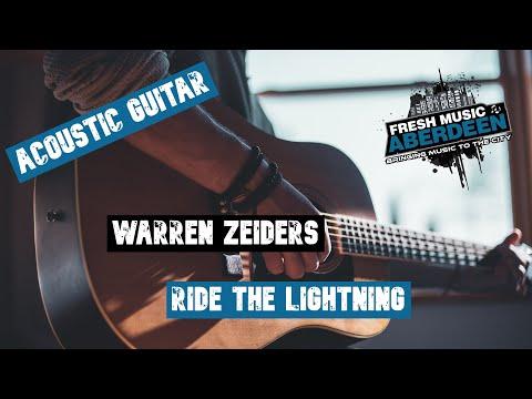 Warren Zeiders -  Ride The Lightning || Play Along Guitar TAB