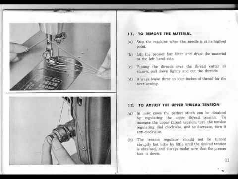 Jones CB Model D Sewing Machine Instruction Manual How To Thread Simple Jones Sewing Machine Manual