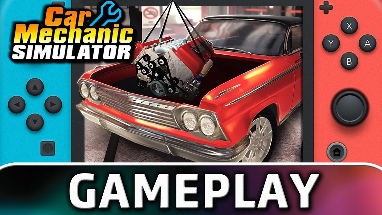 Car Mechanic Simulator | First 15 Minutes on Switch