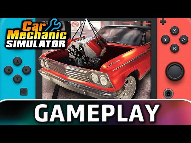 Car Mechanic Simulator Switch Review - Barn Finds Galore