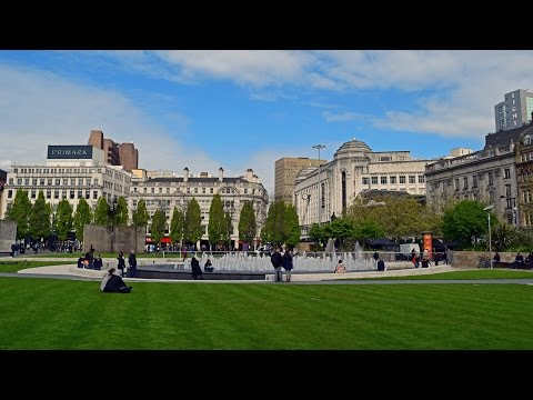 Manchester - Piccadilly Gardens