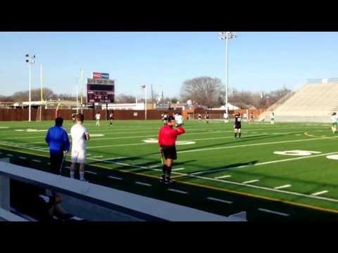 Roxana Goalkeeper Emmett J Conrad High school ! senior class of 2014  Black jersey Team