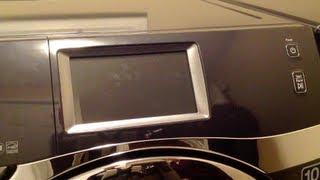 Samsung Smart Washing Machine Demo