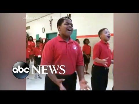 Download Youtube: Baltimore's Cardinal Shehan school choir rehearsal goes viral