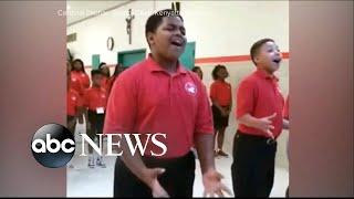 Baltimores Cardinal Shehan school choir rehearsal goes viral